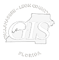 tlcgis black and white logo